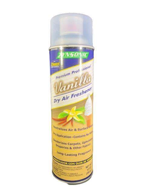 Zynsonic Zynsonic Vanilla Dry Air Freshener Handheld Spray Can, Odor Eliminator - Janitorial Superstore