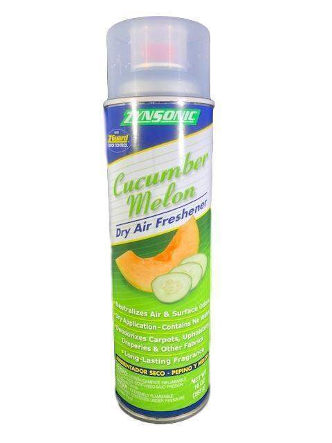 Zynsonic Zynsonic Cucumber Melon Dry Air Freshener Handheld Spray Can, Odor Eliminator - Janitorial Superstore