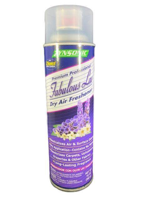 Zynsonic Zynsonic Fabulous Lavender Dry Air Freshener Handheld Spray Can, Odor Eliminator - Janitorial Superstore