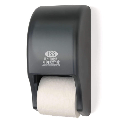 Janitorial Superstore JSS Bath Tissue Two-roll standard Dispenser (Sharp Line) - Janitorial Superstore