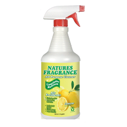 Natures Fragrance All Purpose Cleaner, Lemon Scent