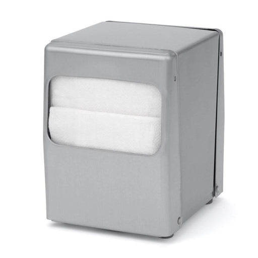 Palmer Fixture Palmer Fixture ND0045 Table Top Low Fold Napkin Dispenser - Janitorial Superstore
