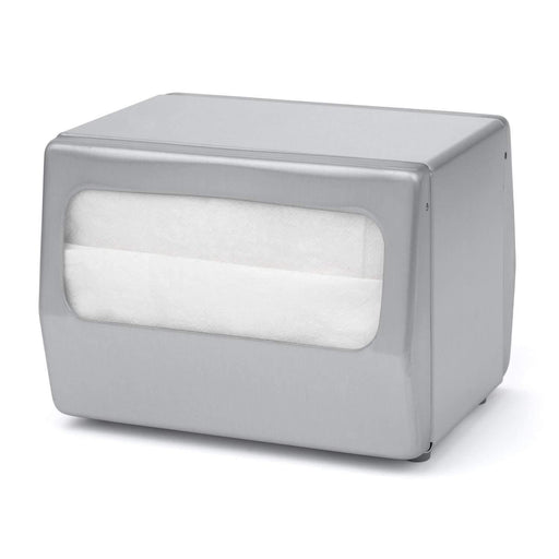 Palmer Fixture Palmer Fixture ND0055 Table Top Mini Fold Napkin Dispenser - Janitorial Superstore