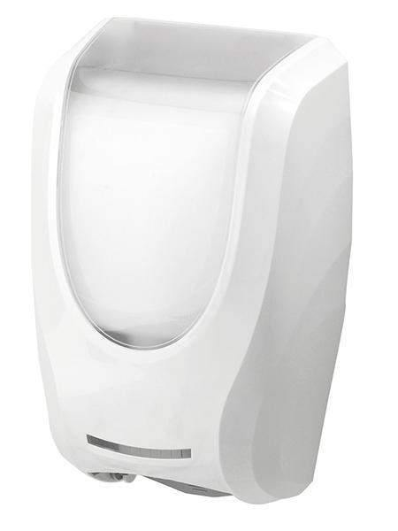 Janitorial Superstore JSS Premium White Automatic Hand Soap Dispenser - Janitorial Superstore