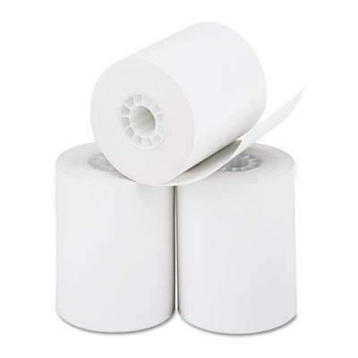 Janitorial SuperstorePM Company® Thermal Paper Rolls, Cash Register/Calculator Roll, 2 1/4 x 85 ft, White, 3/Pk