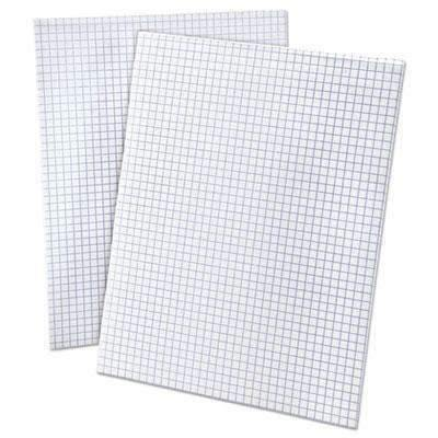 Janitorial Superstore Ampad Quadrille Pads, 4 Squares/Inch, 8 1/2 x 11, White, 50 Sheets - Janitorial Superstore