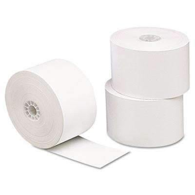 Janitorial SuperstoreUniversal® Single-Ply Thermal Paper Rolls, 3 1/8 x 230 ft, White, 10/Pack