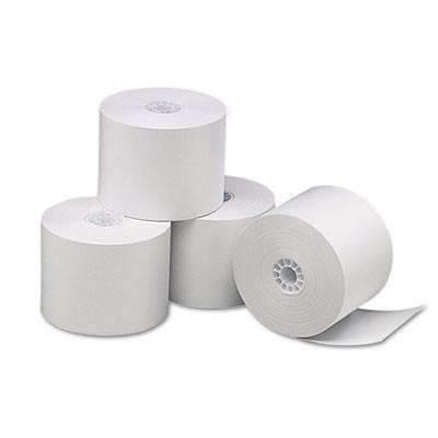 Janitorial SuperstoreUniversal® Single-Ply Thermal Paper Rolls, 2 1/4 x 85 ft, White, 3/Pack