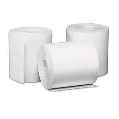 Janitorial SuperstoreUniversal® Single-Ply Thermal Paper Rolls, 3 1/8 x 230 ft, White, 50/Carton