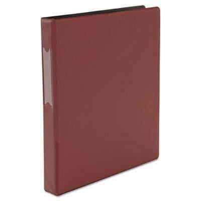 Janitorial SuperstoreUniversal® D-Ring Binder, 1 Capacity, 8-1/2 x 11, Burgundy
