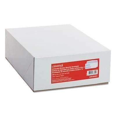 Janitorial SuperstoreDouble Window Check Envelope, 500/Box
