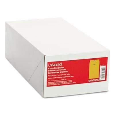 Janitorial SuperstoreKraft Clasp Envelope, 100/Box, , 6 x 9