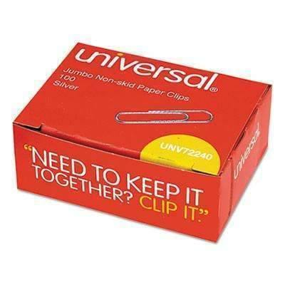 Janitorial SuperstoreUniversal Non Skid Paper Clips 1,000 Box 10x100