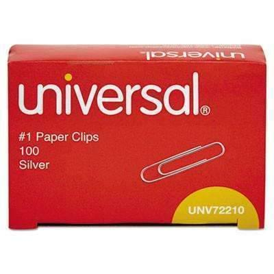 Janitorial SuperstoreUniversal Smooth Paper Clips 1 3/8, 1000cs