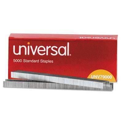 Janitorial SuperstoreUniversal Standard Chisel Point, 210 Strip Count Staples, 5,000/Box