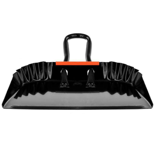 "Janitorial Superstore 17"" - Heavy Duty Black Metal Dustpan - Janitorial Superstore"