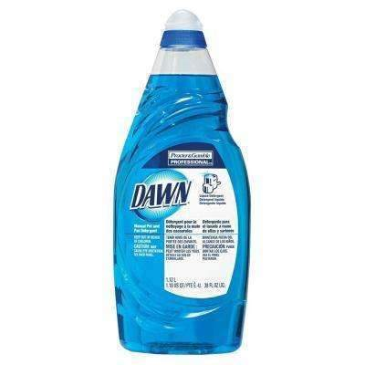 Janitorial Superstore Dawn® Manual Pot & Pan Detergent - 38 oz, 8 Cs - Janitorial Superstore