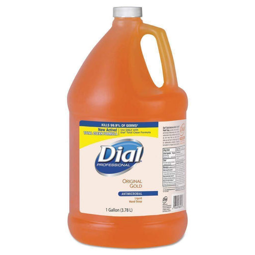Dial Gold Antimicrobial Liquid Hand Soap, Floral Fragrance, 1 gal Bottle