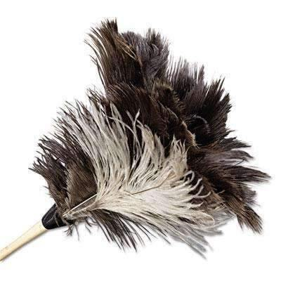Janitorial SuperstoreProfessional Ostrich Feather Duster, 7 Handle