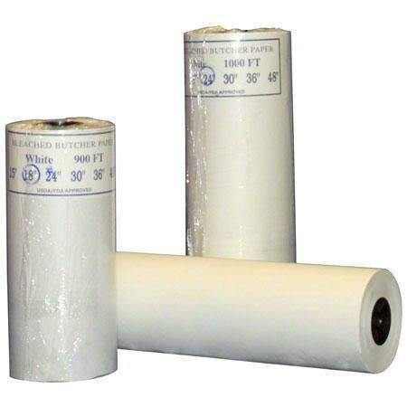 Janitorial SuperstoreDixie Converting 18x900 White Butcher Paper Roll 40# Basis Weight 1 Roll