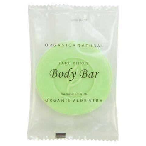 Mountain Breeze Pure Citrus Body Bar 150, 25g Sachet, 500 Case - Janitorial Superstore