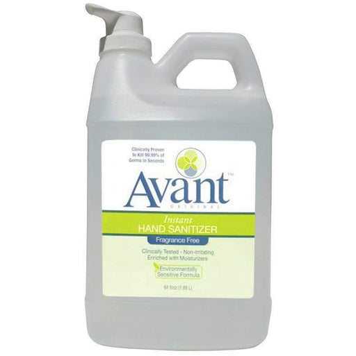 Avant Avant Original Fragrance-Free Hand Sanitizer, 64oz - Janitorial Superstore