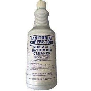 Janitorial Superstore Bathroom Cleaner & Disinfectant, Non Acid Quart - Janitorial Superstore