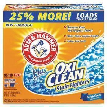Janitorial SuperstoreArm & Hammer Power of OxiClean Powder Detergent, Fresh,