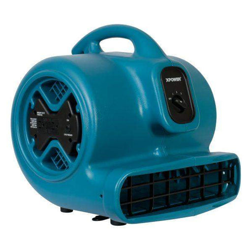 XPOWER P-600A 1/3 HP Air Mover, Dryer, Floor Fan, Blower with Build-in Power Outlets (Free Shipping) (8703443404)