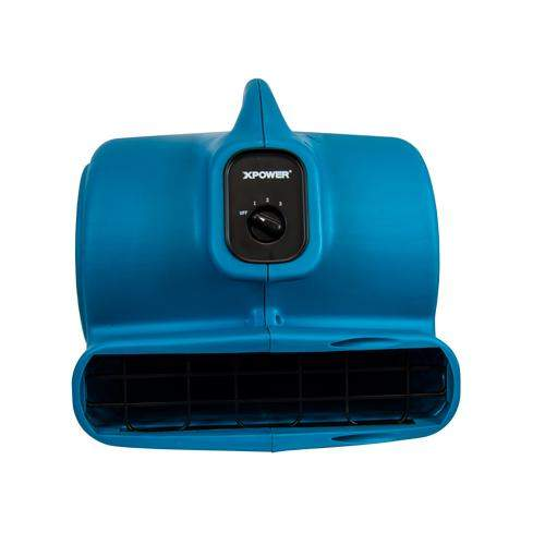XPOWERXPOWER P-630 1/2 HP 2800 CFM 3 Speed Air Mover, Carpet Dryer, Floor Fan, Blower (Free Shipping)