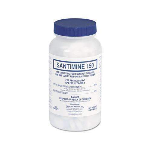 Santimine 150 Quaternary Sanitizer Tablets (7453851974)
