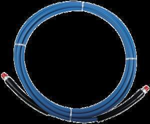 crwHigh Pressure 4000 PSI Pro Solution Hose, 100Ft Blue