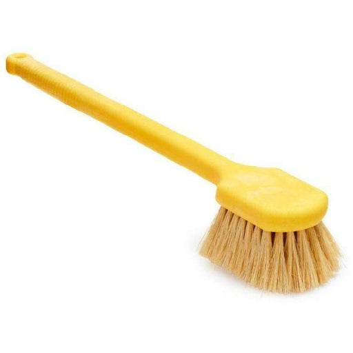 Janitorial Superstore20 Utility Brush Yellow