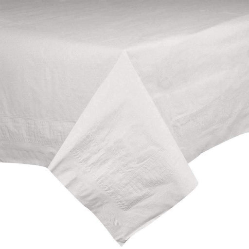Call for Pricing54 x 108 White Tablecover