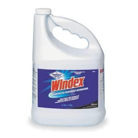 Janitorial Superstore Windex® Glass Cleaner Powerized with Ammonia-D® - 1 Gallon, 4 Cs - Janitorial Superstore