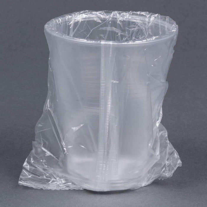 Translucent Wrapped Plastic Cup - 9 oz, 1000cs (7594100102)