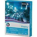Janitorial Superstore Xerox® Vitality Multipurpose Printer Paper, 8 1/2 x 11, White,1 Ream 500 Sheets - Janitorial Superstore
