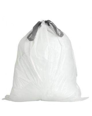 Janitorial SuperstoreJSS 25 x 30 White Drawstring Bags .9 Mil, 200 Case, 20 Gallon