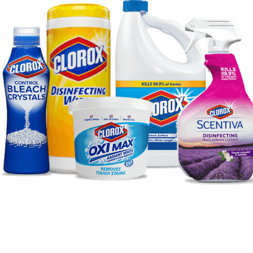 More Cleaning Products!