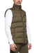 Cavalleria Toscana Men's Nylon Hooded Vest w/ Fleece Pocket Lining
