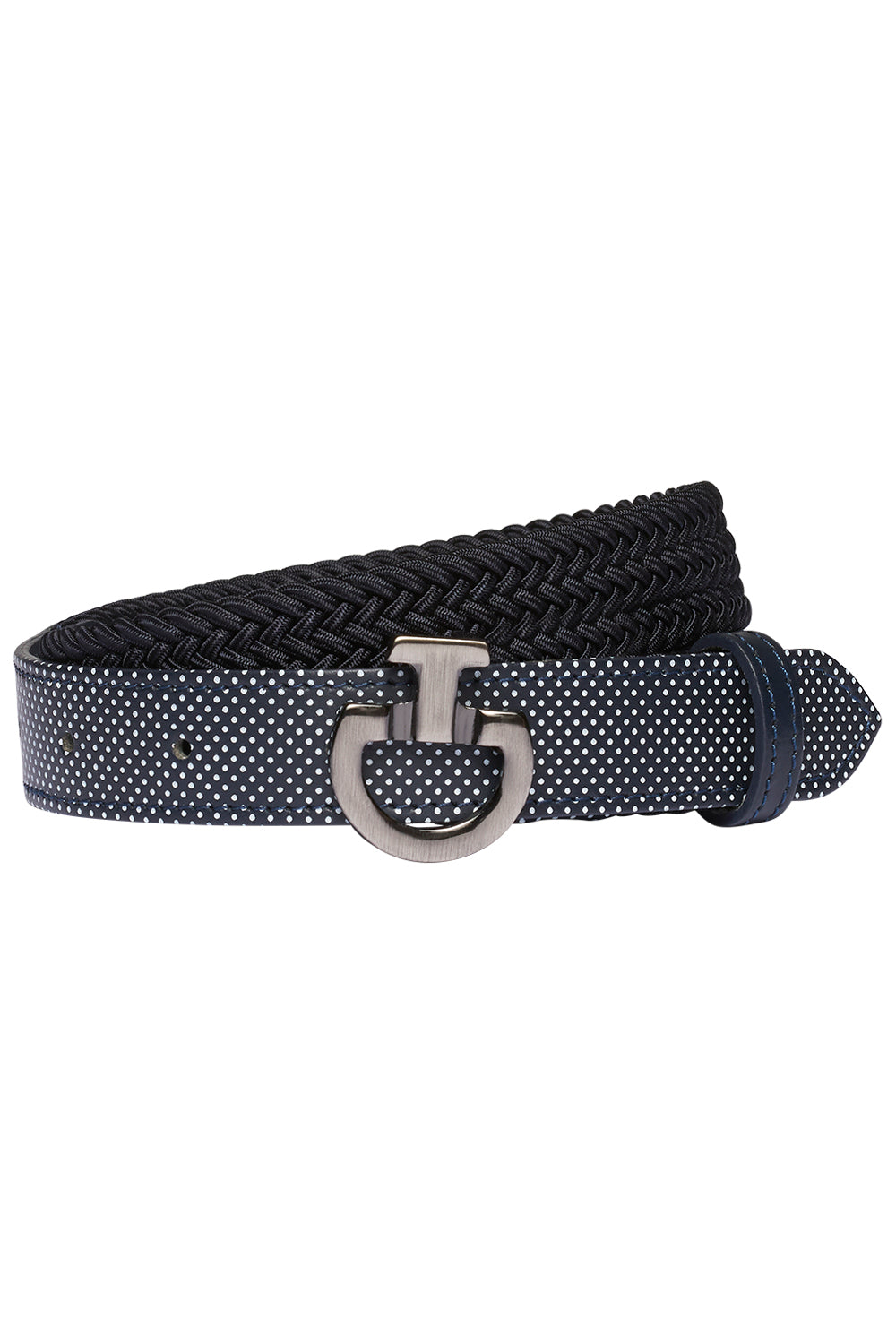 Cavalleria Toscana Young Rider Elastic Belt W/Perforated Leather