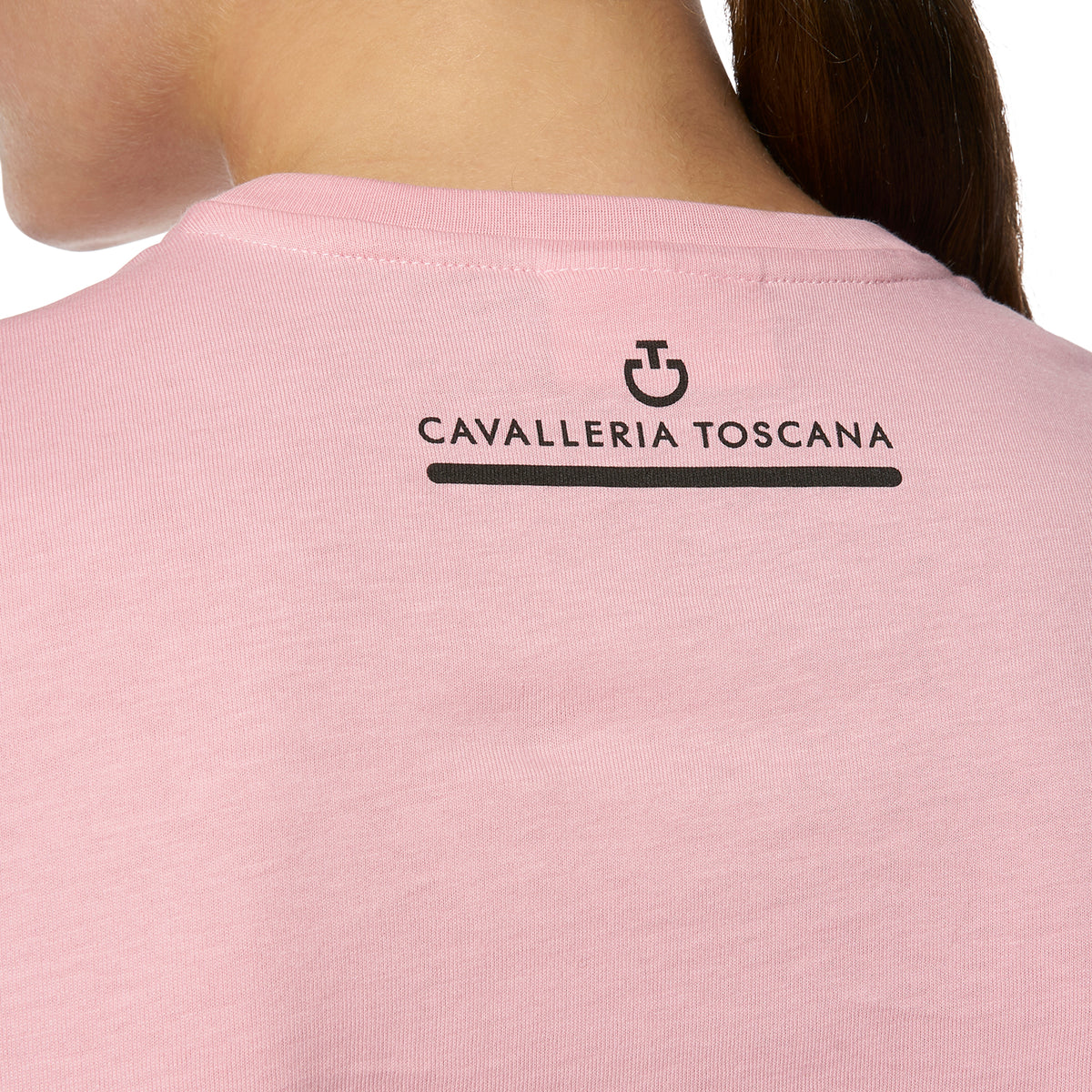 Cavalleria Toscana Women's Girls Love Horses Cotton T-Shirt