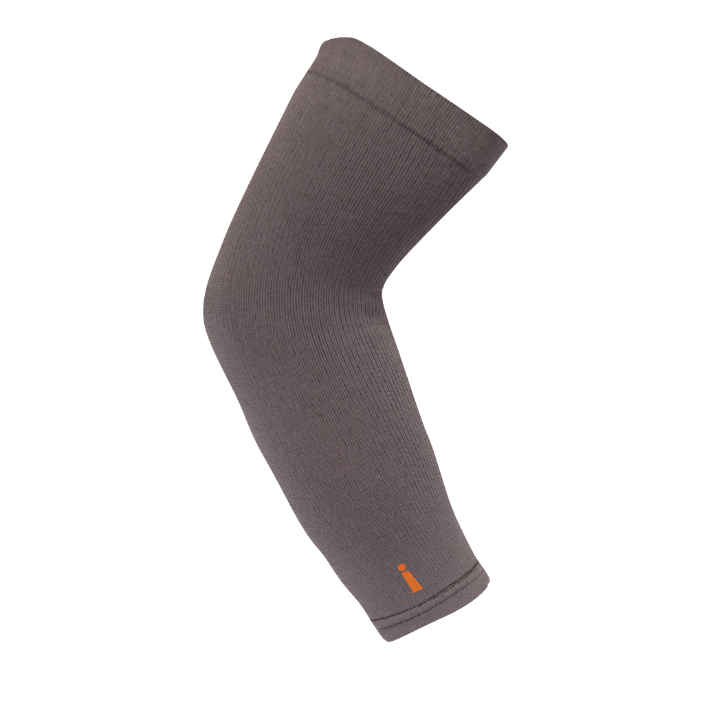 The Incrediwear Arm Sleeve is not compression based, nor is the Arm Sleeve filled with copper. The Incrediwear Arm Sleeve is made up of a breathable material, and comes in one size, which fit most adults comfortably. The Incrediwear Arm Sleeve is recommended by medical professionals, professional athletes & trainers, and active people everywhere.