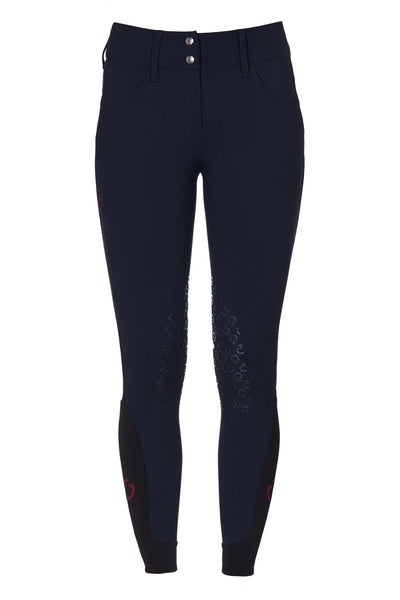 These Cavalleria Toscana American Hunter Riding Breeches come in a very cool bi-stretch fabric, with a silicone patch featuring the Cavalleria Toscana Super Grip System.  Maximum hold while riding Fast-drying / Easy Care Bi-stretch Breathable fabric Made and designed in Tuscany, Italy
