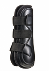 "The first boots designed for the specific needs of Equitation riders! Eq-Teq has a classical, sophisticated appearance but is packed with features to provide ultimate protection and comfort for your horse.   Eq-Teq™ Boots and ImpacTeq™ Peel Away Liners offer the most effective protection on the market today Anatomically molded outer shell, virtually unbreakable shock absorbing liner and features three 1.25"" wide straps for a more customized fit. Our ImpacTeq Peel Away Liners have removable cubes in target z"