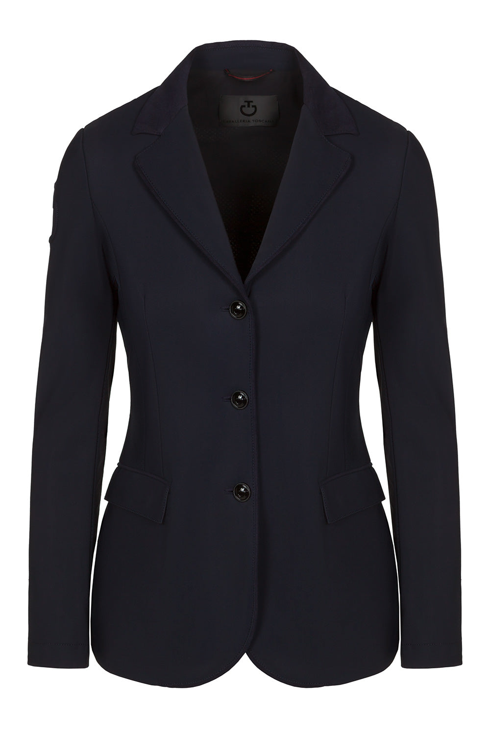 What an amazing new style Jacket!  You'll love the design details on the Cavalleria Toscana GP Perforated Riding Jacket
