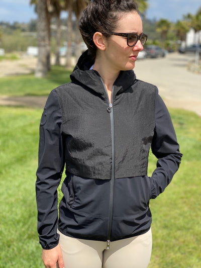 This is very windproof jacket, the day we took these pictures it was crazy, and we stayed warm!  You'll love the Cavalleria Toscana R-Lab Windbreaker, we're sure of it.  Wind-proof  Water-repellant Made and designed in Tuscany, Italy