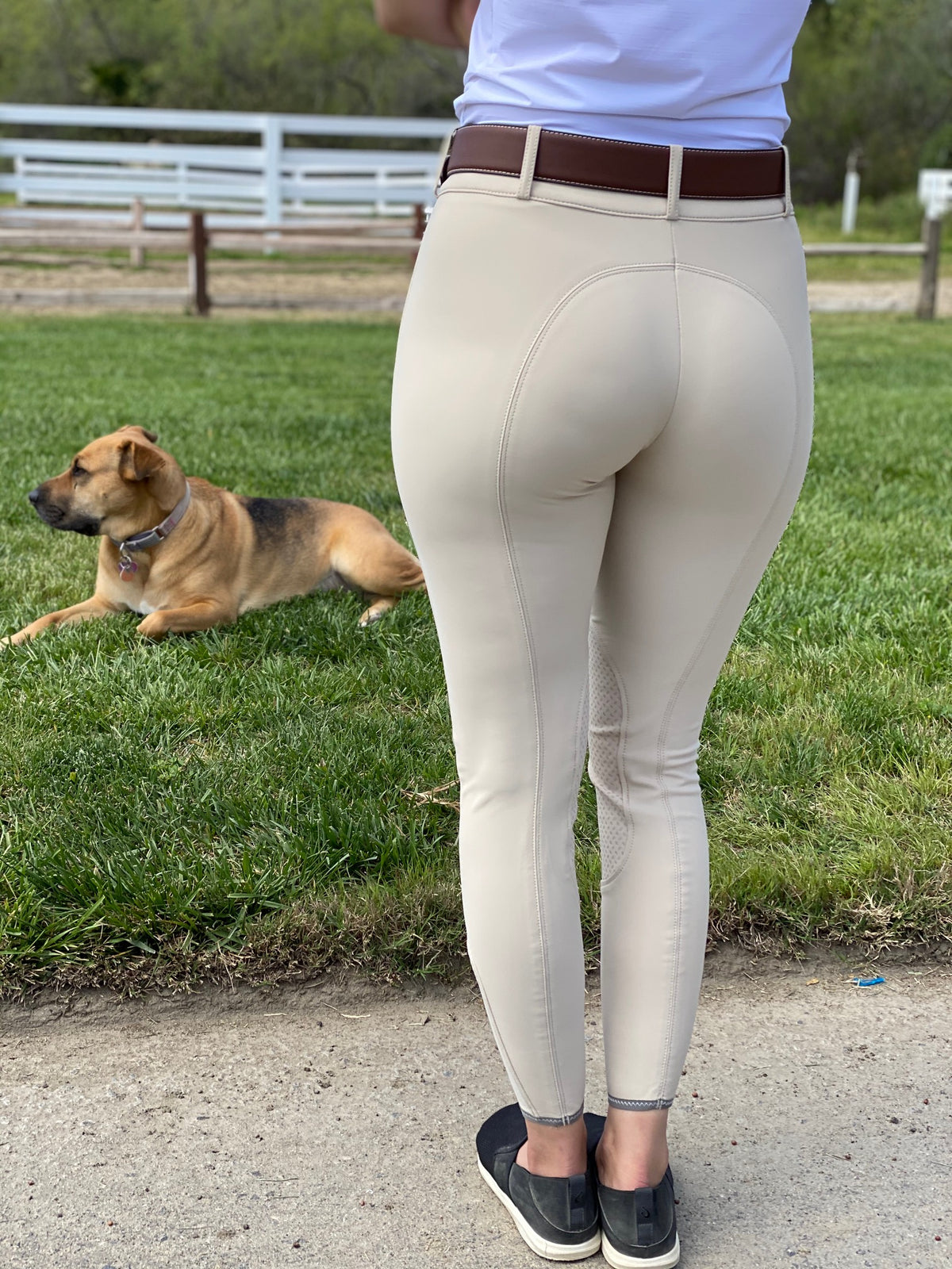 The NEW Pikeur Ciara Grip breeches are a NEW version of their Ciara model with an amazing new fabric by Scholler, you'll really love this addition!