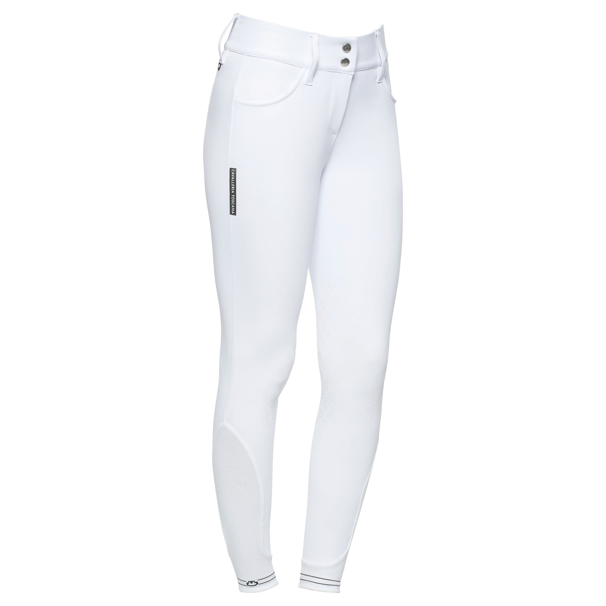 Cavalleria Toscana American Breeches W/Perforated Logo Tape