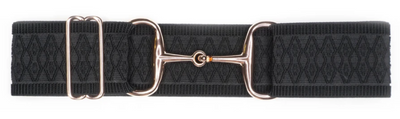 Ellany Snaffle Rose Gold Bit Adjustable Belts